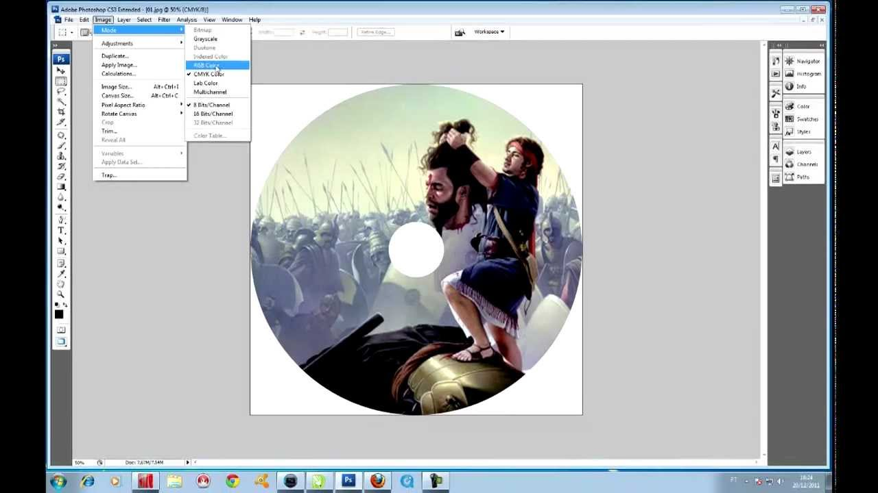 ARTE PARA CD COREL DRAW - YouTube