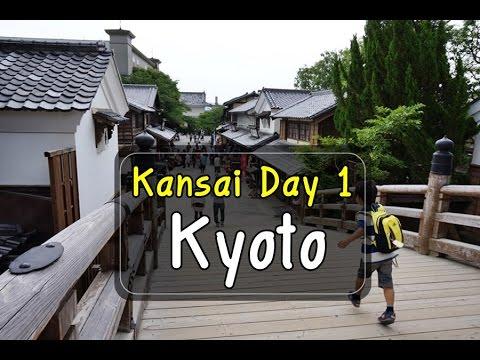 (เที่ยวญี่ปุ่น-2015-ep1/7) Kansai Trip Day 1 : Bangkok - Osaka - Kyoto