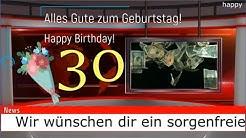 Geburtstagsvideo lustig zum 30. Geburtstag, kostenlos whatsapp Geburtstagslieder von Thomas Koppe