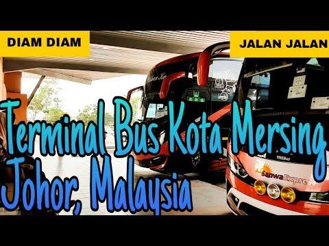 Terminal Bus Kota Mersing, Johor, Malaysia
