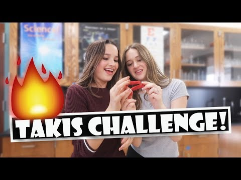 Takis Challenge! 🔥 (WK 391.6)   Bratayley