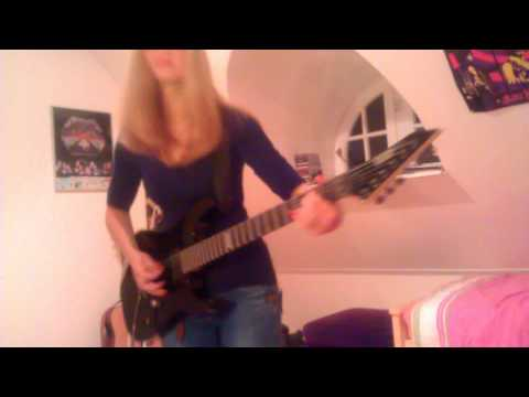Master Of Puppets - Metallica Guitar Cover By Cissie Incl. Kirk Hammett Solo