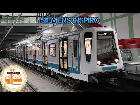 Sofia Metro | First 100% built stations of line 3 + Siemens Inspiro train tests🚇