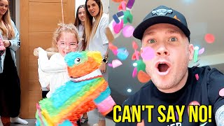 DAD CONTROLS THE DAY!! *Family Can't Say NO for 24 Hours!!