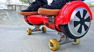 Skating A Hoverboard