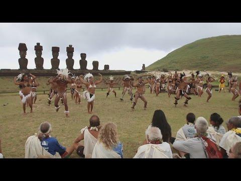 Hōkūleʻa Celebrated On Easter Island (Mar. 6, 2017)