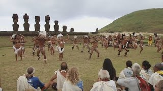 Hōkūleʻa Celebrated On Easter Island (Mar. 6, 2017)