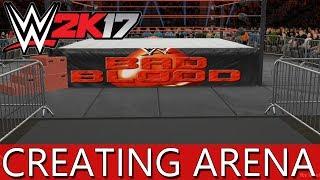 WWE 2K17 إنشاء ساحة: الدم الفاسد!