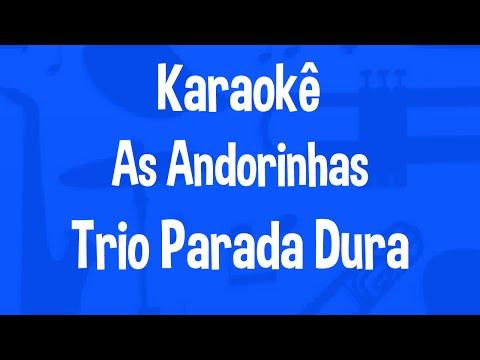 Karaokê As Andorinhas - Trio Parada Dura