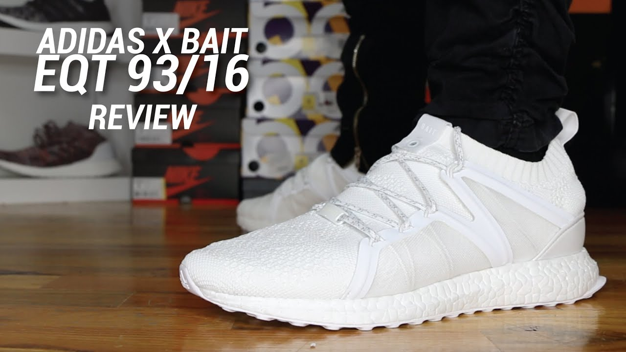 7eb0ebda967b ADIDAS X BAIT EQT 93 16 REVIEW - YouTube