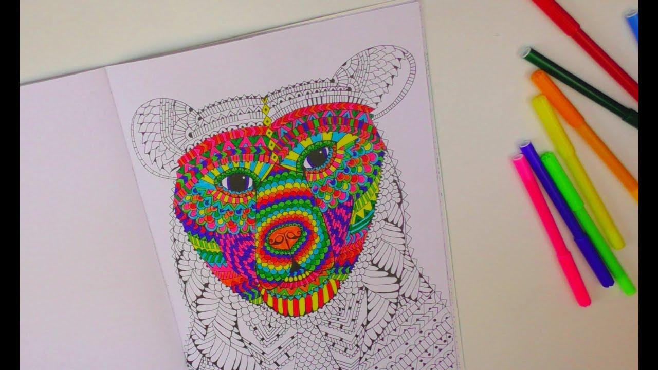 Speed Drawing 1 Kathi Zeigt Euch Ihr Malbuch Ausmalen Coloring Book Painting Deutsch