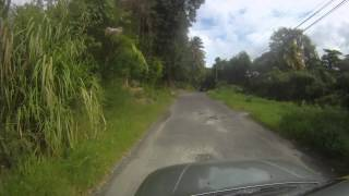 Drive along Grand Bay, Dominica