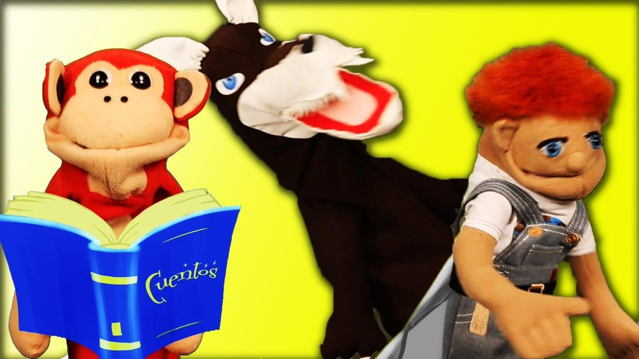 Pedro y El Lobo Feroz - El Mono Silabo - Cuentos y Canciones Infantiles #leyendojuntos