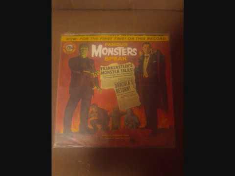 """""""Famous Monsters Speak"""" - Wonderland Records Vinyl Rip (1963)"""