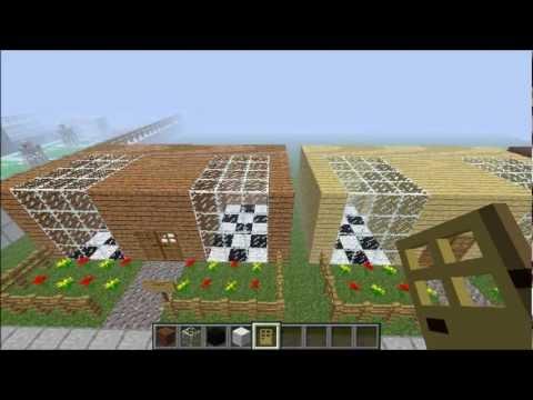 Makkelijk modern huis bouwen minecraft youtube for Huis maken minecraft