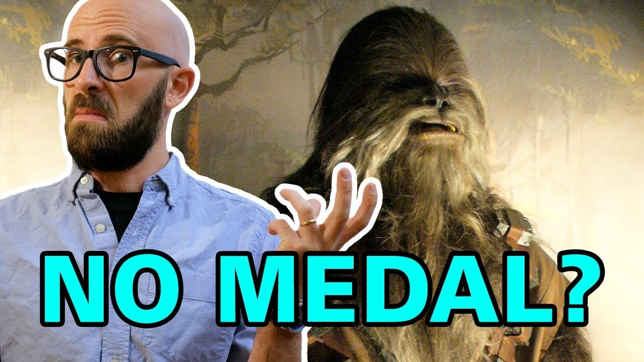 why didnt chewbacca get a medal in star wars a new hope