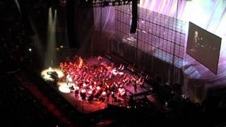 "Andrea Bocelli and Edit Piaf  ""La Vie en Rose"" 2013 at Madison Square Garden"