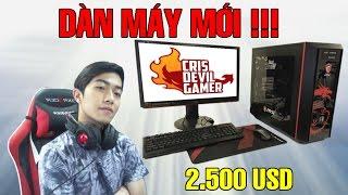Dàn máy MSI mới toanh trị giá 2500 USD tại Studio CrisDevilGamer
