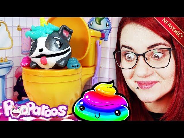 POOPAROOS 💩 Squishy zwierzątka które robią kupkę  😂 miss Aga