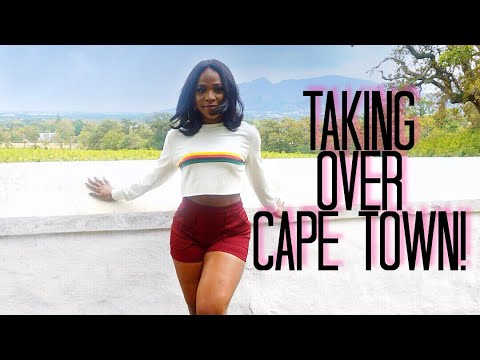 Lagos Girl in Cape Town, South Africa| Day 1Vlog| City Tour & Too Much Wine!