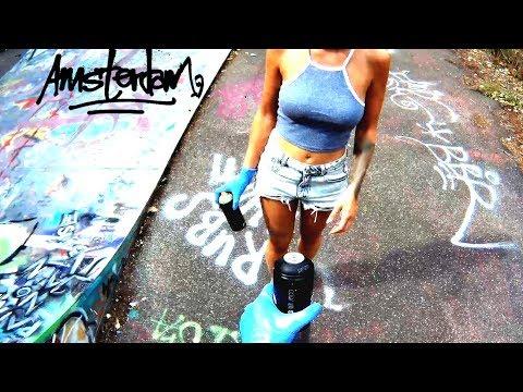 GRAFFITI - SEXY STYLE - Amsterdam GoPro Action - SUCUK