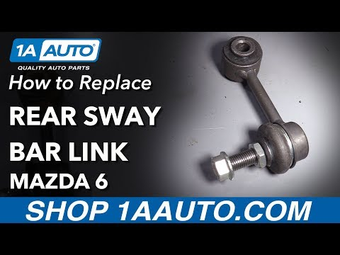 How to Replace Rear Sway Bar Link 03-08 Mazda 6
