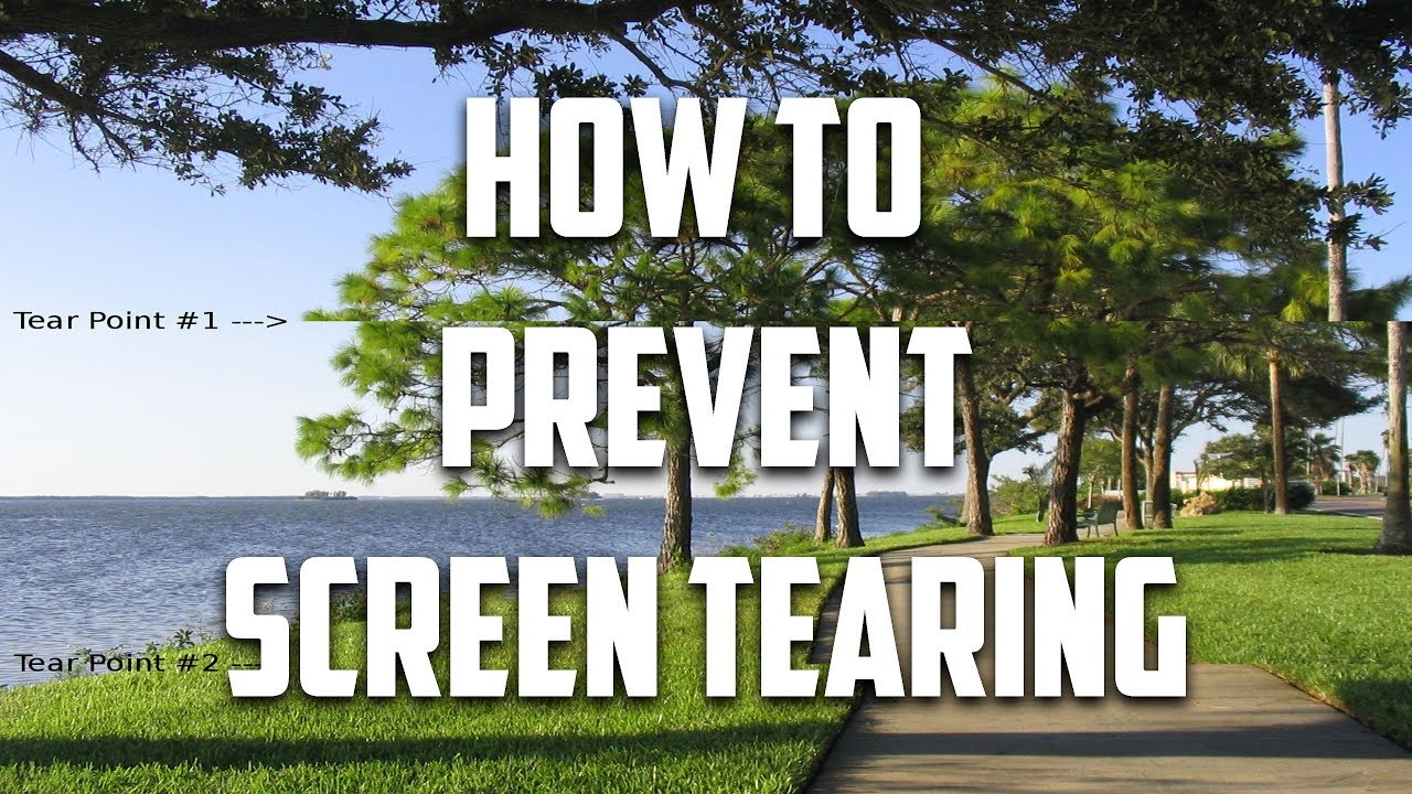 What is Screen Tearing? How can I Stop It!