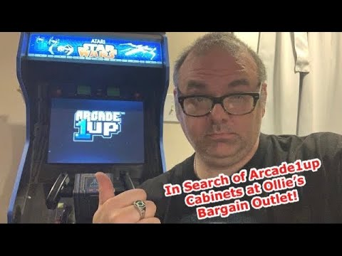 In Search of Arcade1up Cabinets at Ollie's Bargain Outlet from MegaPodTastic