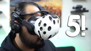 5 أكسسوارات خرافية للـ HTC Vive و خوذ الواقع الإفتراضي