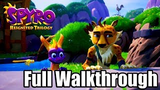 SPYRO REIGNITED TRILOGY [PS4 PRO] Gameplay Walkthrough - SPYRO: YEAR OF THE DRAGON Full Game