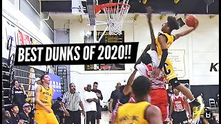 BEST DUNKS OF 2020!! Mikey Williams, Jalen Green, Cade Cunningham & MORE!