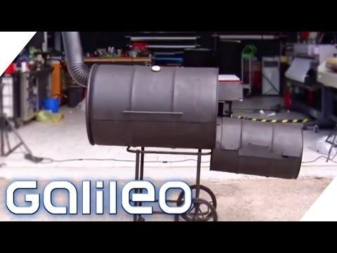 einfach und g nstig selber bauen der fass grill smoker 1 2 abenteuer leben funnydog tv. Black Bedroom Furniture Sets. Home Design Ideas