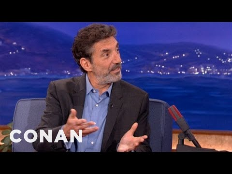 Chuck Lorre: Science-Boosting Philanthropist - CONAN on TBS