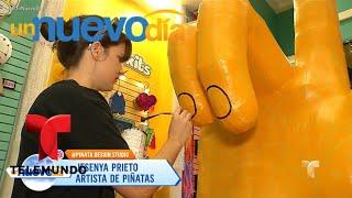 ¡Jóvenes mexicanos y la bella tradición de las piñatas! | Un Nuevo Día | Telemundo