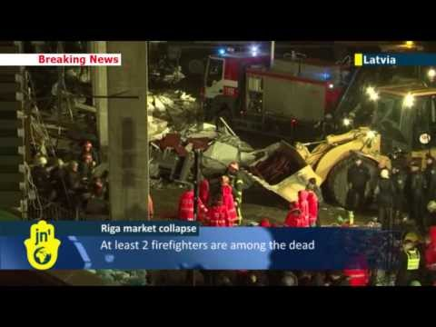 Latvia Supermarket Roof Collapse: Death toll rising following tragic Riga grocery store accident