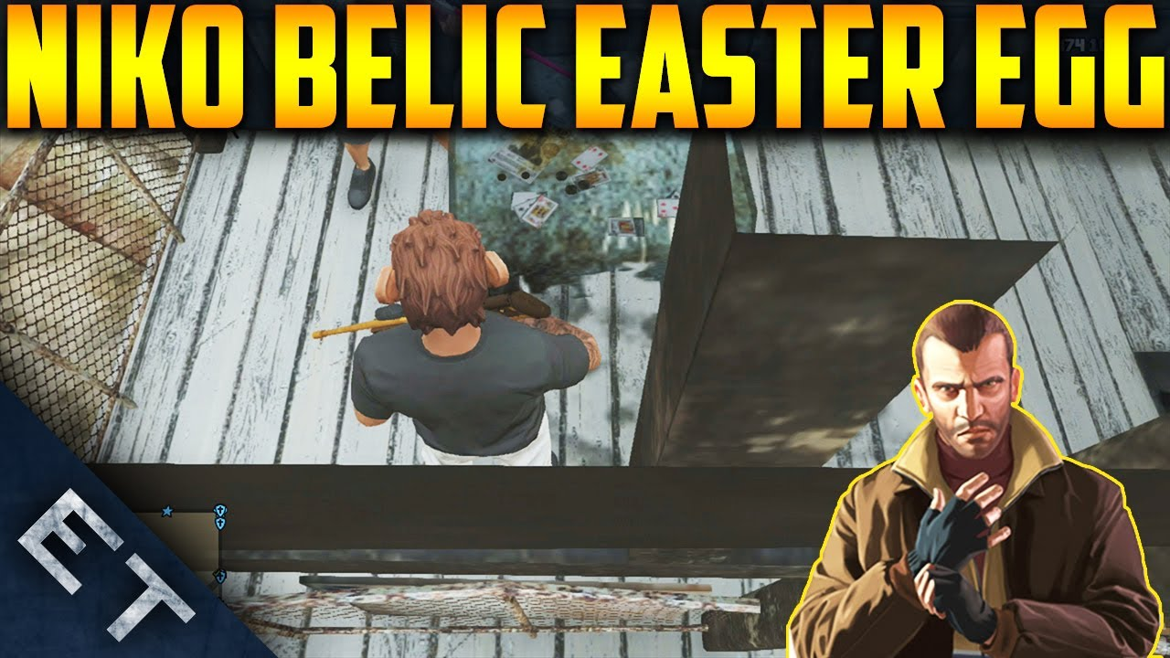 "GTA V Online - ""NIKO BELLIC"" Easter Egg! - Niko Bellic ..."