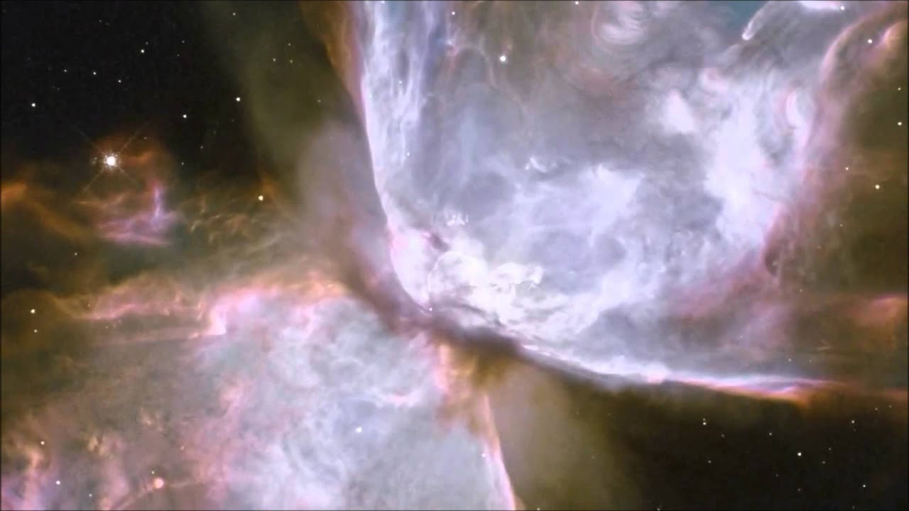 (HD) NASA The Butterfly Nebula - Hubble Space Telescope 3D Image
