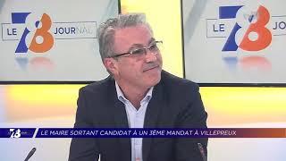 Yvelines | Le maire sortant de Villepreux candidat à un 3ème mandat