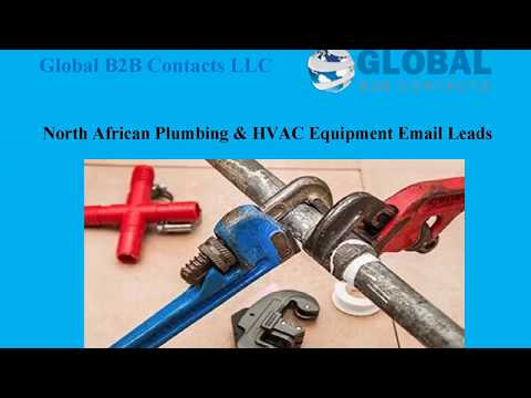 North African Plumbing & HVAC Equipment Email Leads