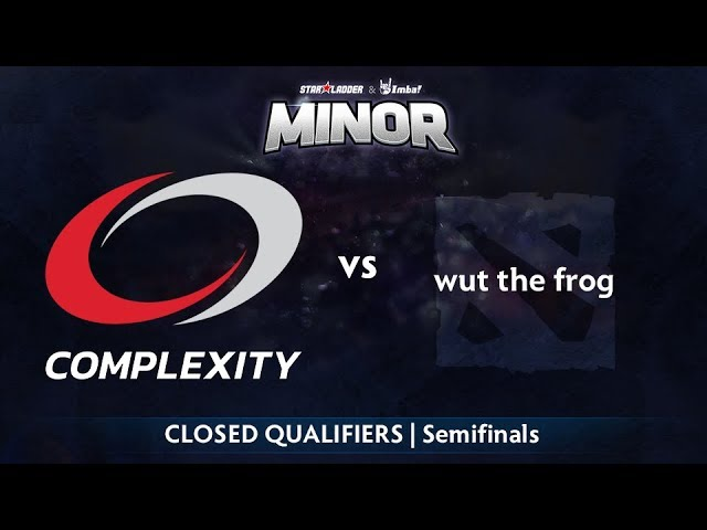 compLexity vs wut the frog Game 2 - StarLadder ImbaTV NA Qualifier: Semifinals