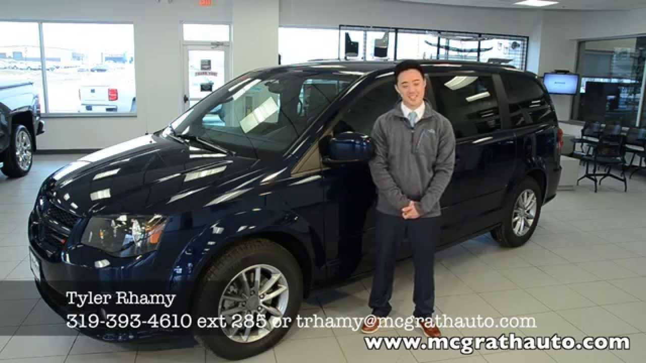2014 Dodge Grand Caravan compared to Honda Odyssey and Town and
