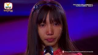 ចាន់ វណ្ណដាលីស - វាសនាបុប្ផាស្វាយរៀង (Blind Audition Week 3 | The Voice Kids Cambodia Season 2)
