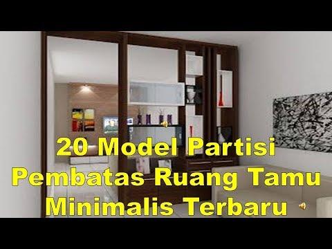 20 Model Partisi Pembatas Ruang Tamu Minimalis Terbaru