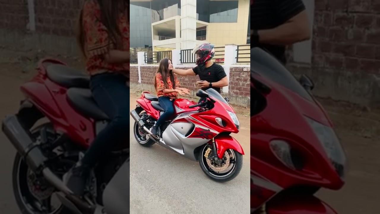 Yeh konsa SUNDAY -MONDAY suna rahi hai🤣😂🤣 by faraz stunt rider #hayabusa #superbikes #shorts