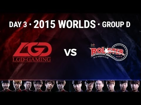 KT Rolster vs LGD Gaming | Week 2 Day 3 Group D LoL S5 World Championship 2015