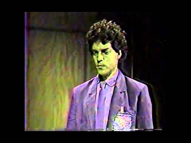 GUILHERME OSTY com Paulo Castelli e Osmar Prado - 1984 - Minissérie Viver a Vida - TV MANCHETE