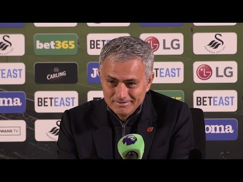 Swansea 1-3 Manchester United - Jose Mourinho Full Post Match Press Conference