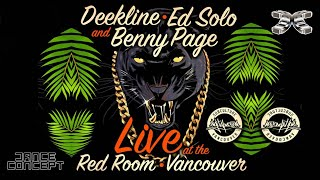 Jungle Cakes (Deekline, Ed Solo & Benny Page) - Live at the Red Room Vancouver