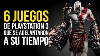 6 JUEGOS DE PLAYSTATION 3 que se adelantaron A SU TIEMPO