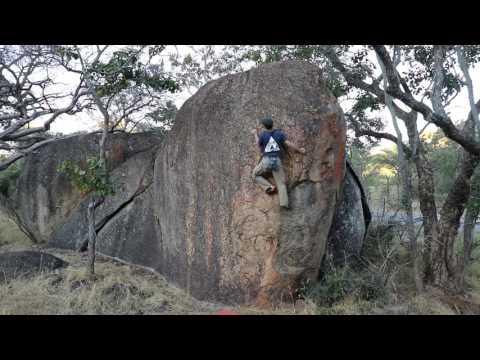 Bouldering in Matobo Hills